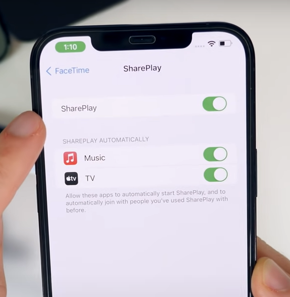 iOS 15 new feture Share play. how to use
